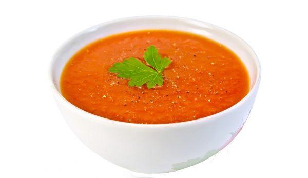 Zupa marchewkowo – pomidorowa
