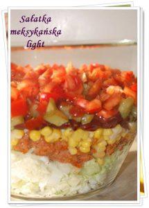 Dietetyczna sałatka meksykańska