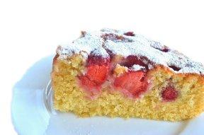dietetyczne ciasto truskawkowe