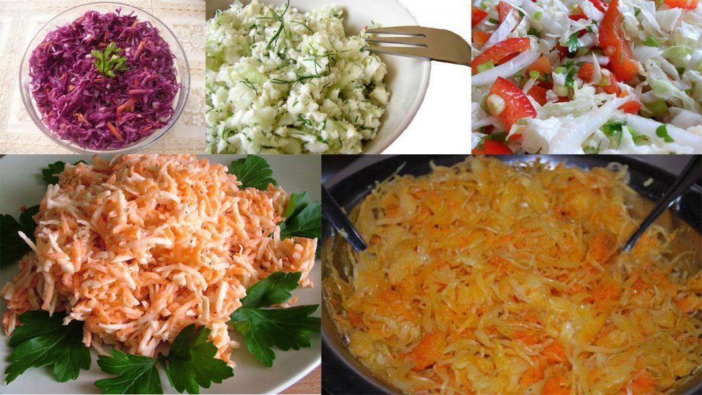 surówki do obiadu. 5 najlepszych pomysłów nasurówki do obiadu.