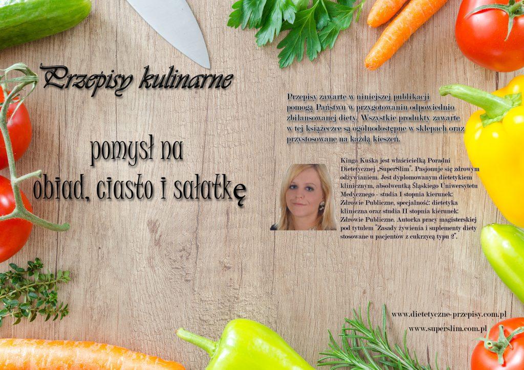 Przepisy kulinarne- książka z przepisami dietetycznymi