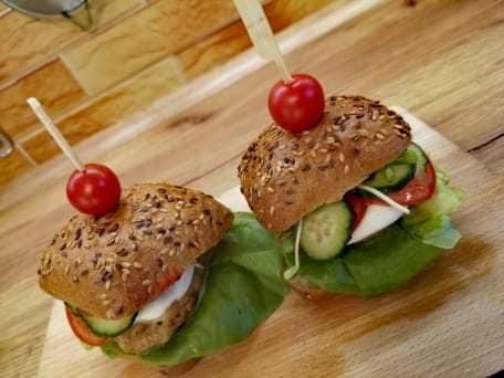 Hamburger z indykiem